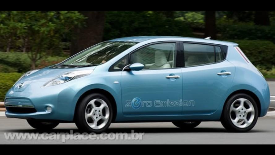 Nissan Leaf recebeu 8000 reservas em apenas 9 dias nos EUA