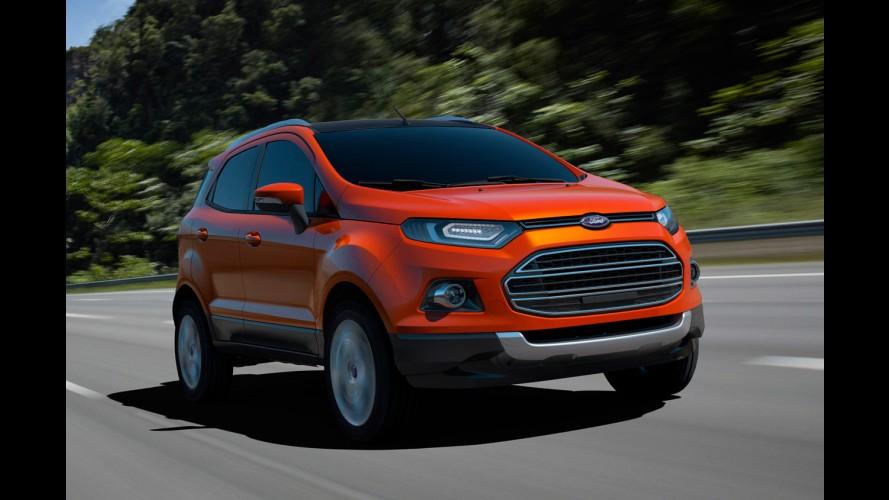 Ford anuncia investimento de US$ 149 milhões para produzir Novo EcoSport na Índia