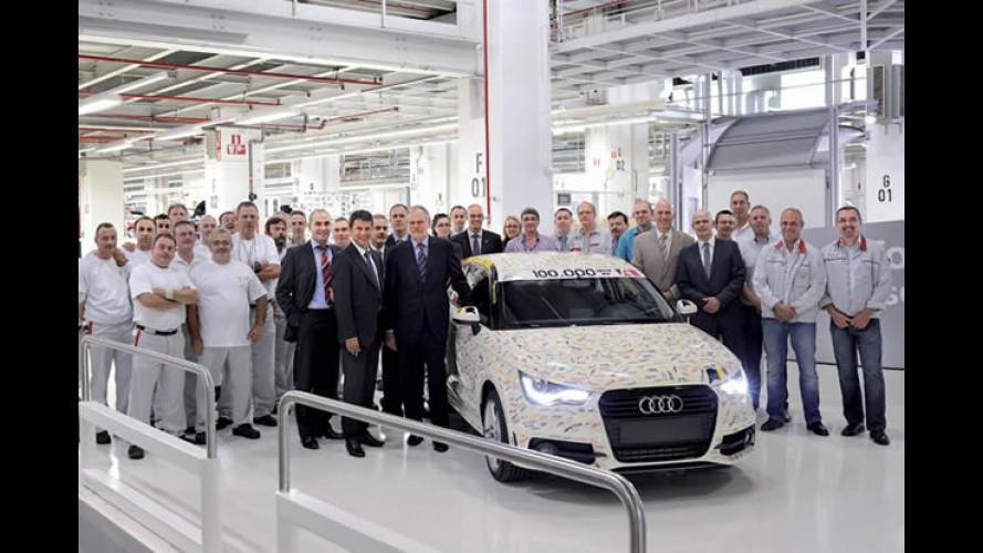 Audi A1 atinge 100 mil unidades produzidas em menos de 1 ano
