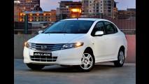 Honda City é lançado na África do Sul como Ballade