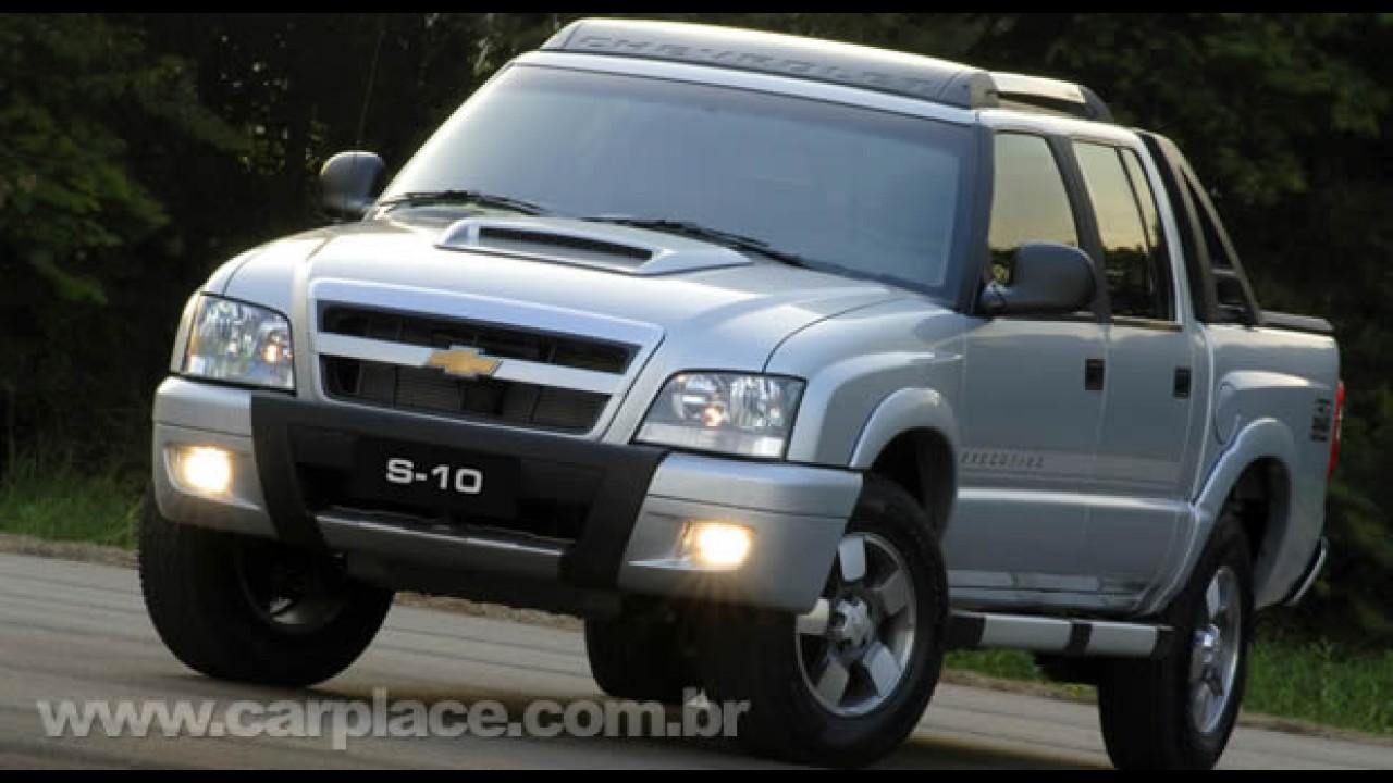Chevrolet S10 amplia liderança de vendas no mercado brasileiro em 2010