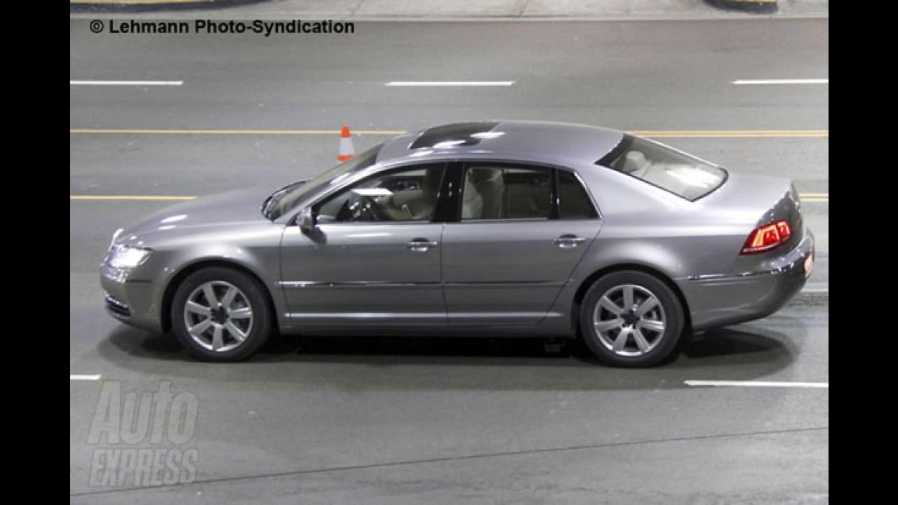 Novo Volkswagen Phaeton: Sedan de luxo alemão é flagrado com novo visual