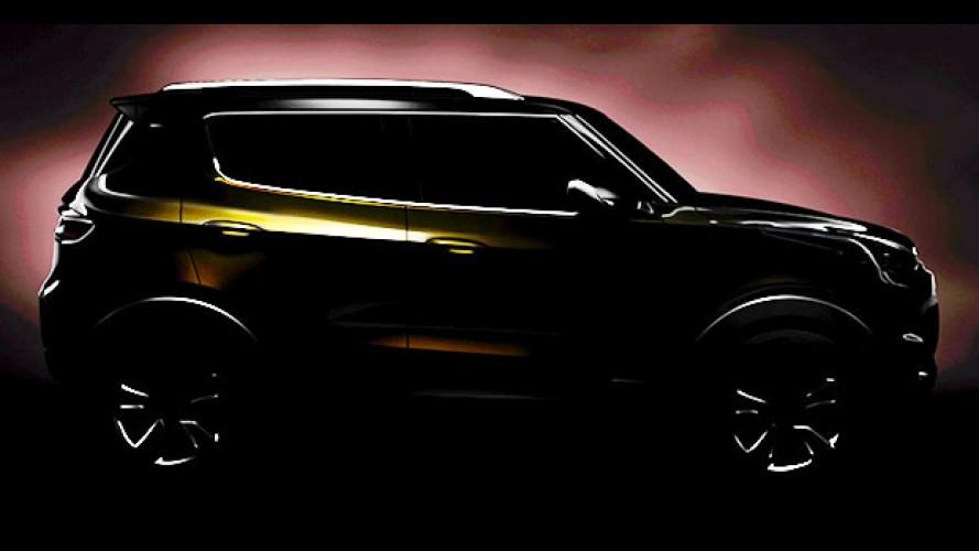 Chevrolet Adra: teaser mostra SUV compacto menor que o Tracker