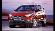 Honda terá um SUV compacto até 2014 - Mini CR-V está a caminho