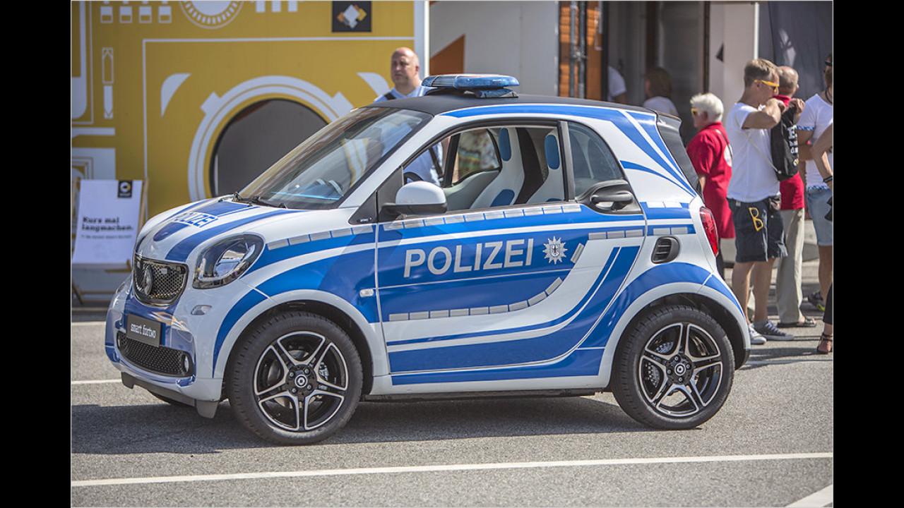 Flotter Polizei-Smart