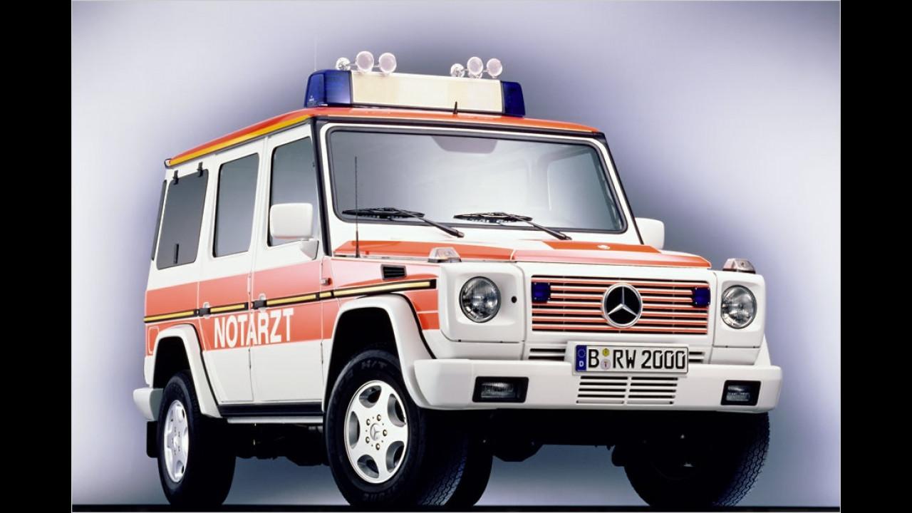 35 Jahre G-Klasse: Rettungswagen