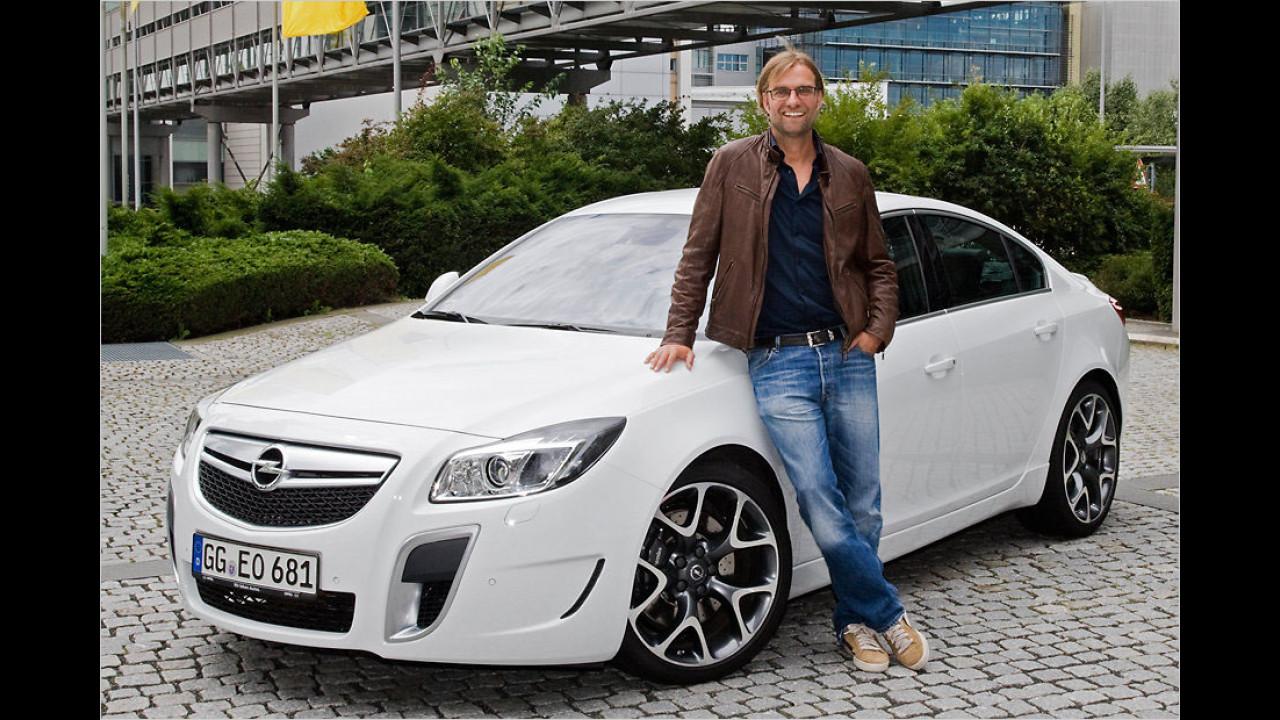 Jürgen Klopp: Opel Insignia OPC