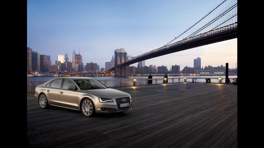 Nuova Audi A8: il listino italiano