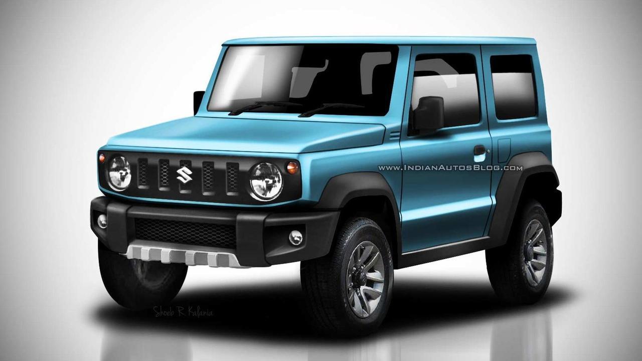 2018 Suzuki Jimny render