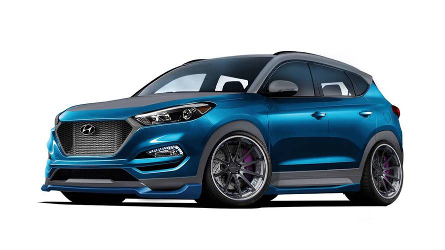 Hyundai Tucson Gets Engine Mods And A Wild New Look For SEMA