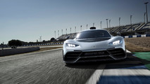 Project One Versus The Mercedes-Benz Supercar All-Stars