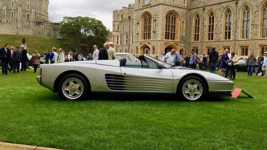 Ferrari Testarossa Spider, el coche del jefe