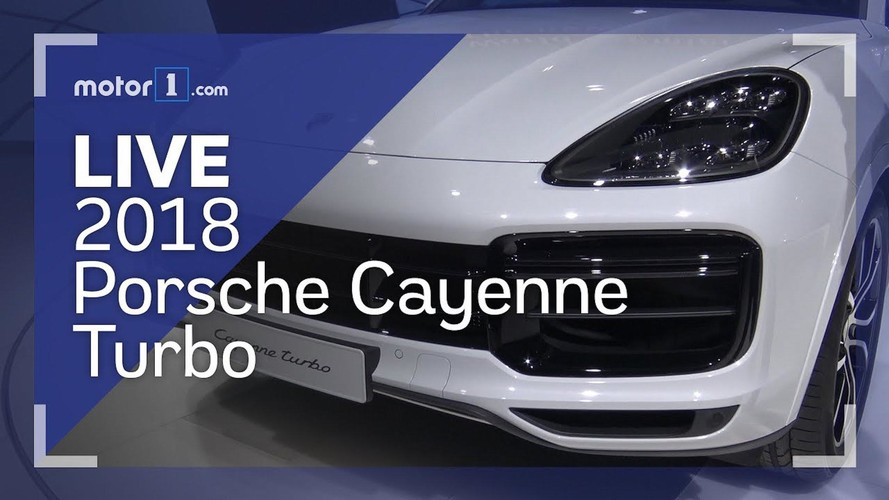2018 Porsche Cayenne Turbo Live Look