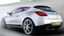 Renault Megane III Coupe Artist Rendering