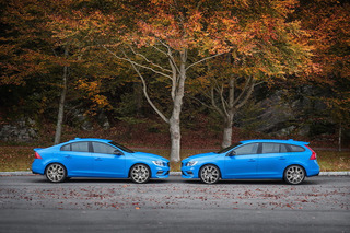 Rapturous In Blue: Volvo Unveils Updated S60 And V60 Polestar Models