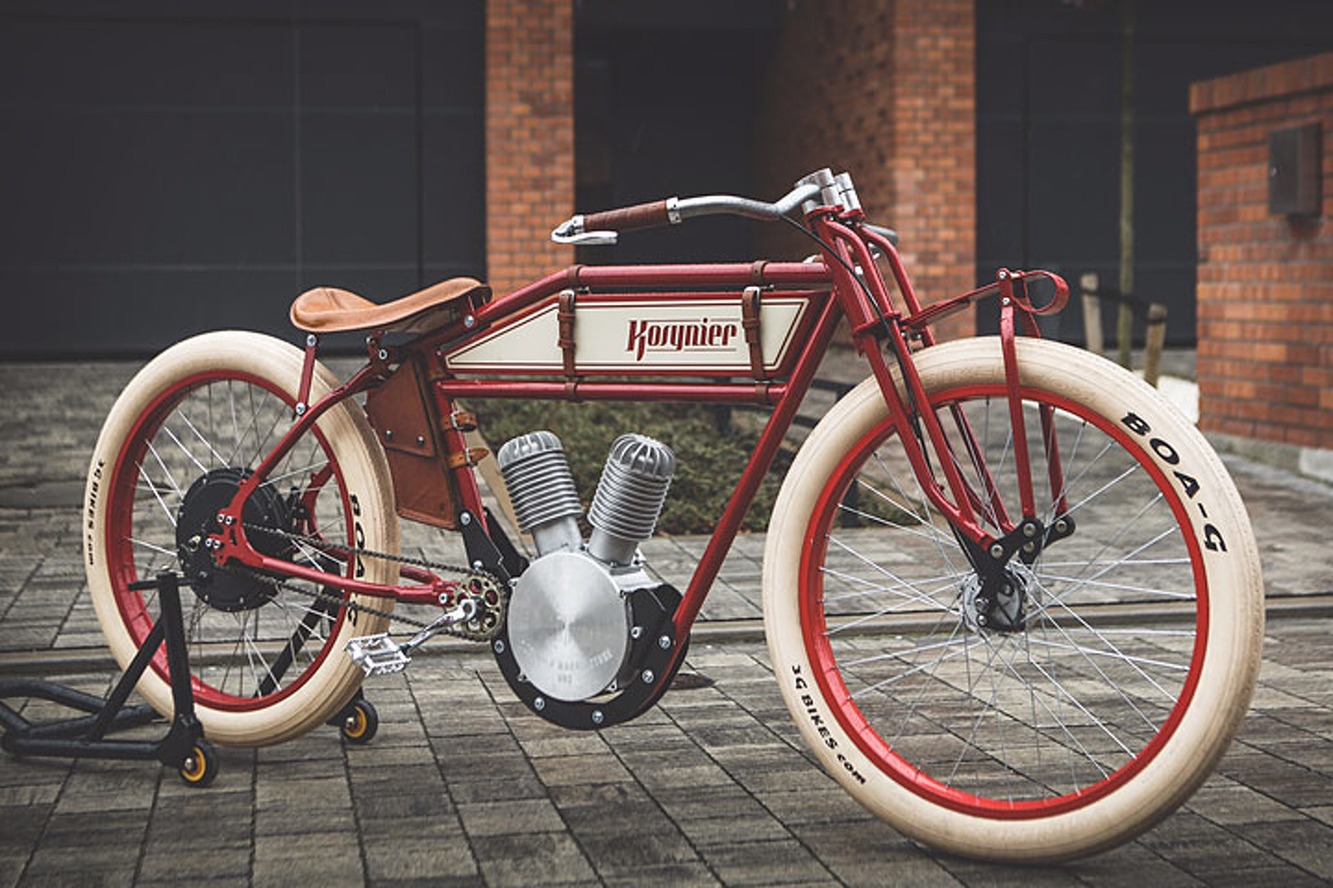 This vintage motorcycle is actually an e bike - Retro vintage ...