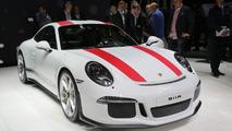 Porsche 911 R live in Geneva