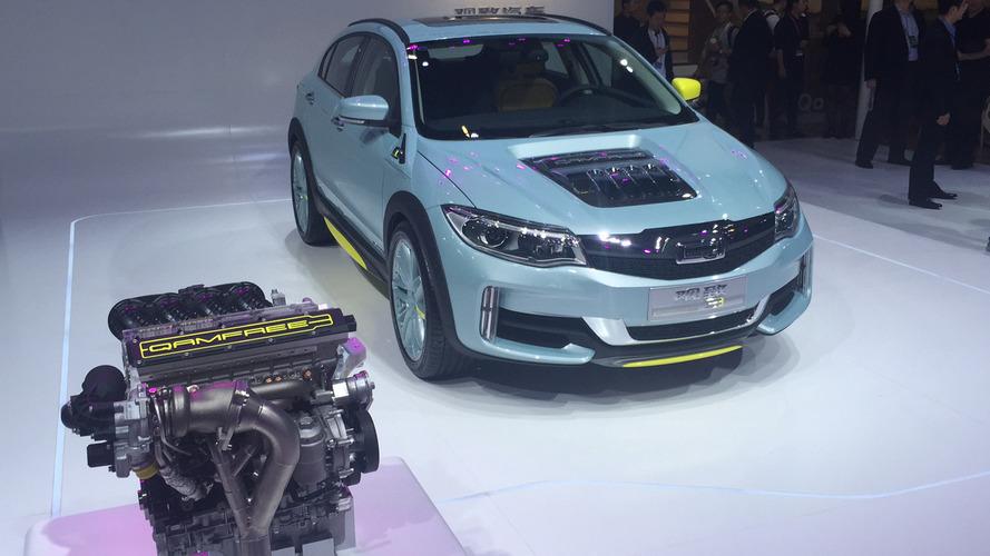 Qoros cam-less valvetrain concept presented in Beijing