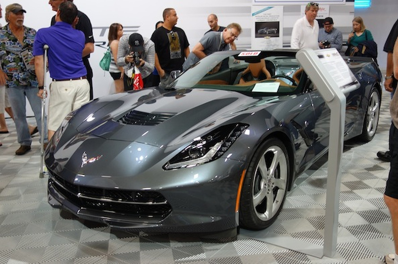 First Chevy Corvette Stingray Convertible Fetches $1M at Auction