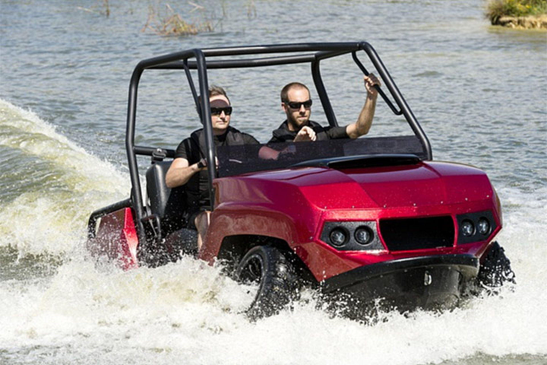 Gibbs Quadski Has Evolved into an Amphibious Bike, Trike, and UTV