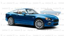 Fiat 124 Coupe render by OmniAuto.it