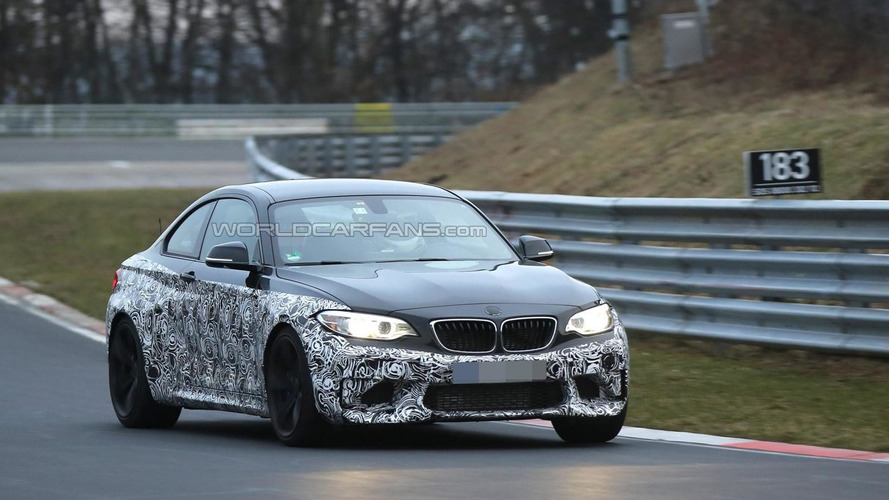 2016 BMW M2 returns to the Ring [video]