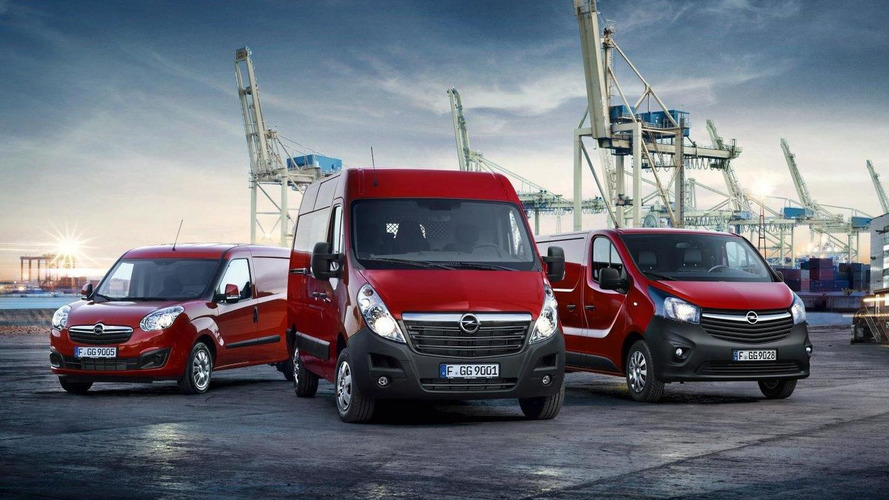 Opel LCV lineup gains new engines for 2016