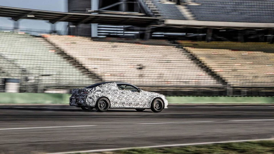 Mercedes-AMG C63 Coupe returns in more revealing teasers ahead of next month's debut