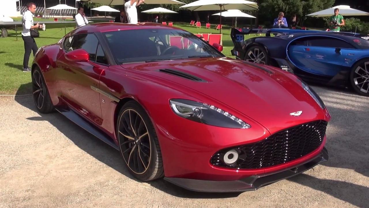 Aston Martin Vanquish Zagato concept au Concours d'élégance de Villa d'Este