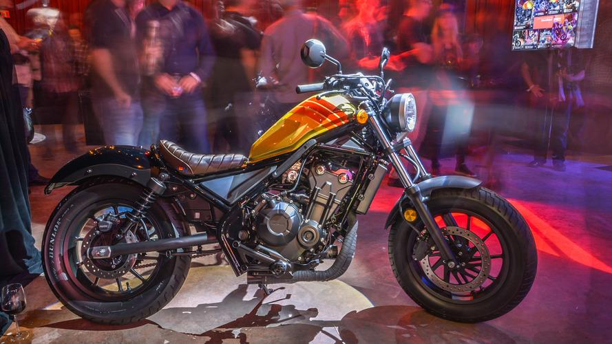 Honda Rebel live unveil
