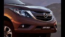 Mazda BT-50: prima da Ford Ranger ganha facelift na linha 2016