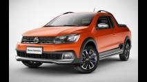 Nova VW Saveiro 2017 aposta em visual diferente do Gol - veja preços