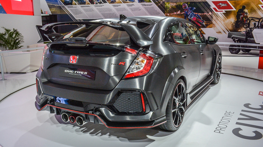 Honda Civic Type R'ın üretim versiyonu nihayet tanıtılıyor!
