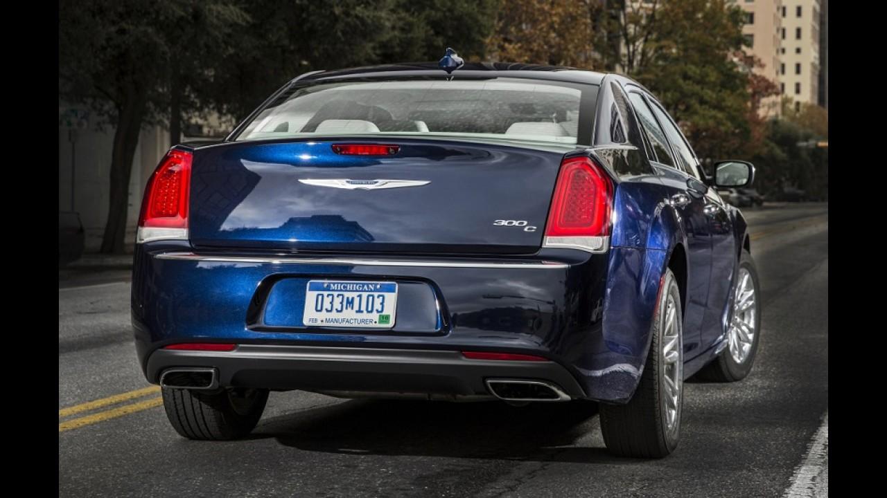 Próximo Chrysler 300C deve perder tração traseira e adotar base da Pacifica