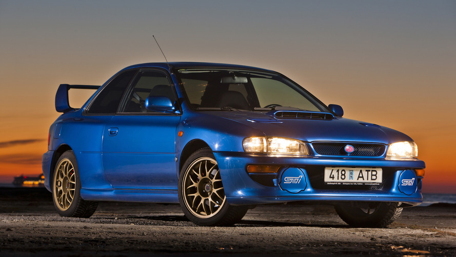 A look back at the auction of this Holy Grail Subaru Impreza 22B STi