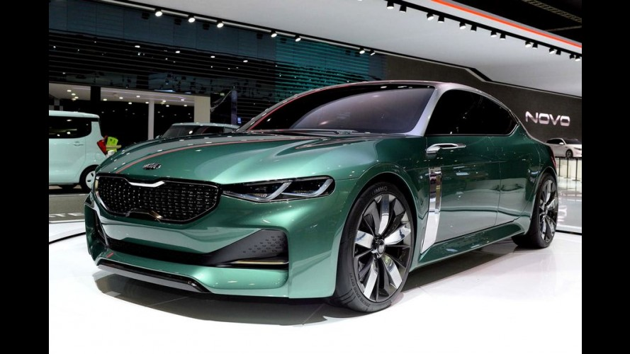 Kia Novo Concept antecipa design dos próximos carros da marca
