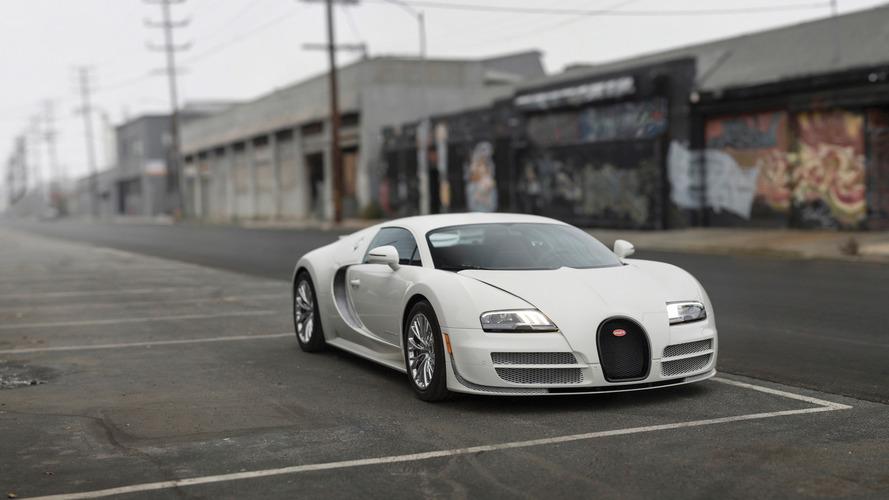 Son Bugatti Veyron satışta