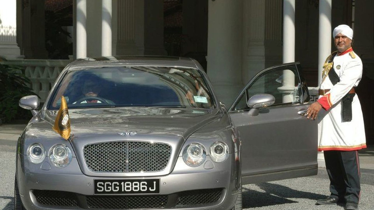 Raffles Hotel Commissions Bentley Continental Flying Spur