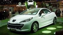 Peugeot 207 E-Pure Concept at Paris