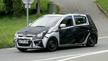 Hyundai i20 Spied