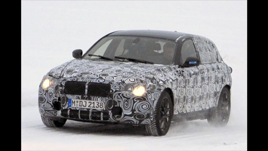 Erwischt: Der neue BMW 1er nimmt Formen an