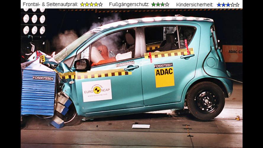Gegen die Wand: Modellneuheiten im EuroNCAP-Crashtest