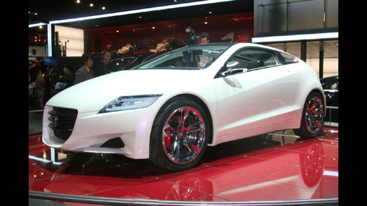Honda CR-Z: Die Sportwagenstudie mit Hybridantrieb soll bereits im Jahr 2009 in Serie gehen