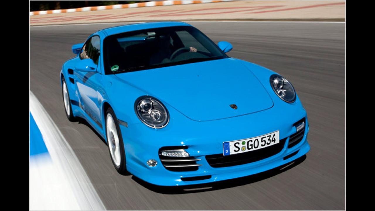 Sportwagen: Porsche 911 Turbo Coupé PDK