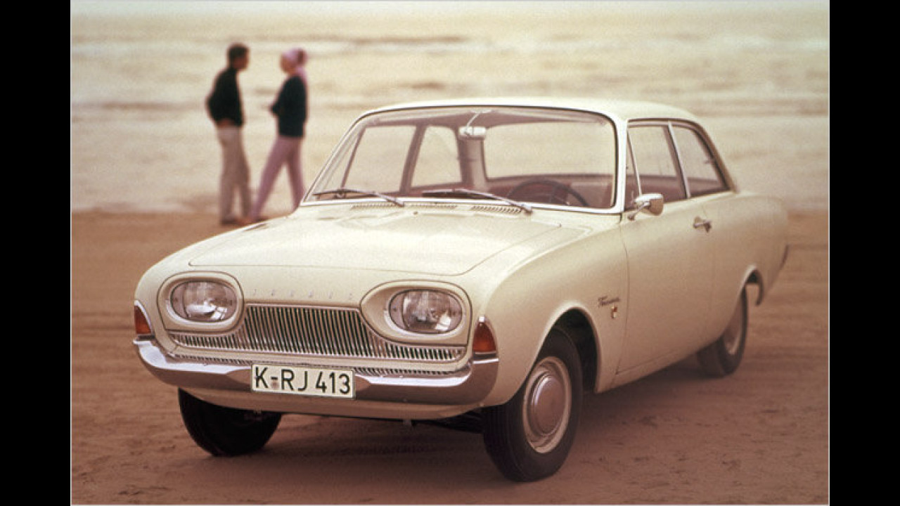 50 Jahre Ford 17M ,Badewanne