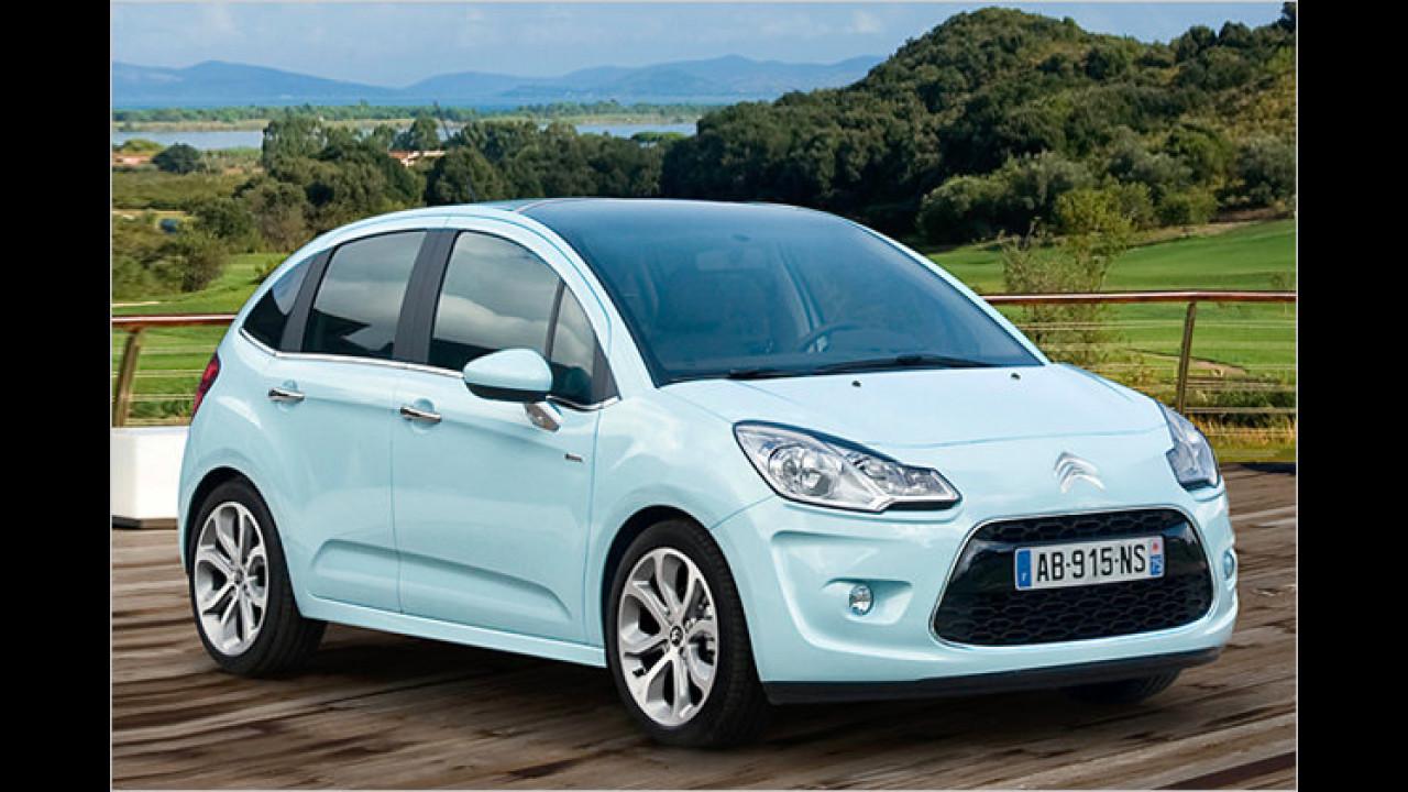 Citroën: Die häufigste Farbe ist Silber