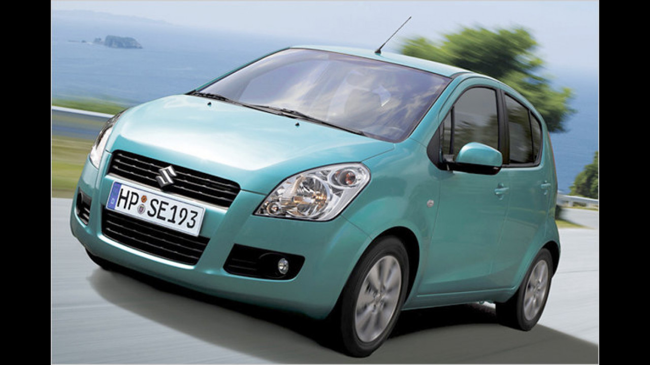 Opel Agila und Suzuki Splash