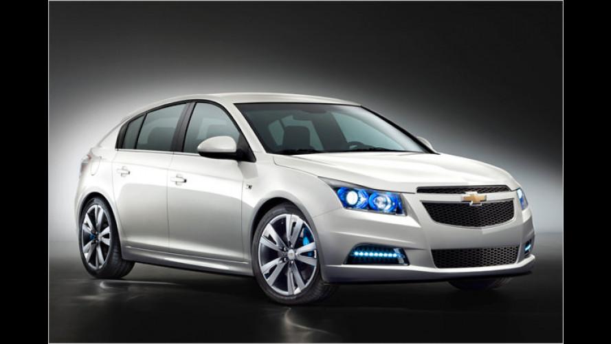 Chevrolet Cruze: Jetzt auch fünftürig
