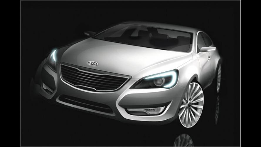 Der Luxus-Kia: Erste Eindrücke vom VG
