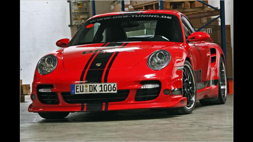 Mehr PS für den Turbo: DKR tunt den Porsche 911 Turbo auf 540 PS